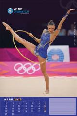 9. Evgenia Kanaeva-April-2013 FIG calendar