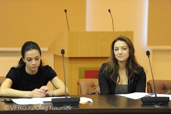 01. Zhenya and Tchachina-selective conference of RUS RG federation-Novogorsk-04Nov2012