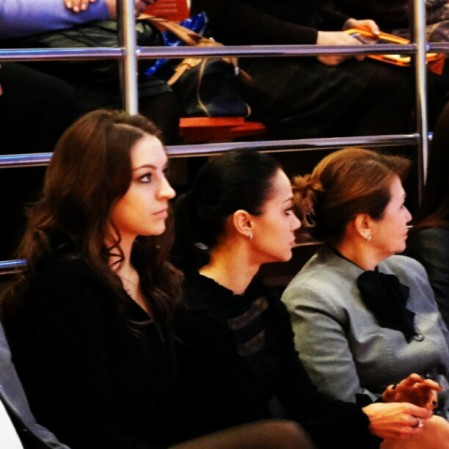 03. Evgenia Kanaeva and Irina Tchachina-Opening Ceremony-Galina Gorenkova memorial Cup-OMSK-07Dec2012