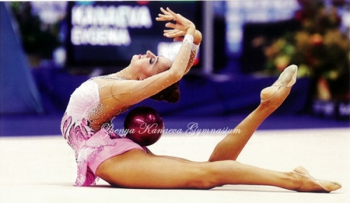 Evgenia Kanaeva-Ball-WCH Moscow 2010-FIG magazine-ZKG