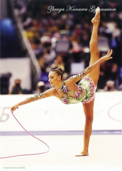 Evgenia Kanaeva-Rope-WCH Moscow 2010-FIG magazine-ZKG