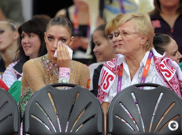 Evgenia Kanaeva-Vera Shtelbaums-AA Final-London 2012