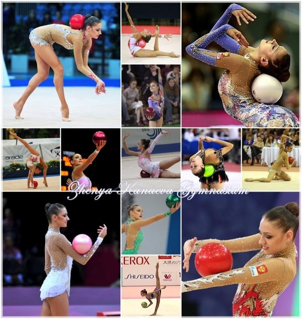 Evgenia Kanaeva-Ball routines-ZKG-Zoe