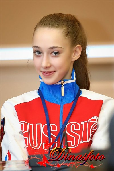 Maria Titova-press conference-25th Feb-GP Moscow 2013