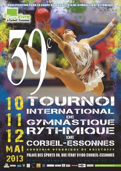 World Cup Corbeil-Essonnes 2013 poster