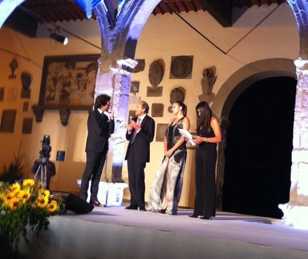 Zhenya Kanaeva at Fair Play Award-4th July 2013 Italy