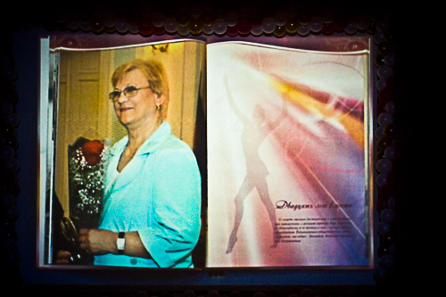 Vera Shtelbamus' biography was presented on the opening ceremony of 28th Galina Gorenkova Memorial in OMSK-30 Oct 2013