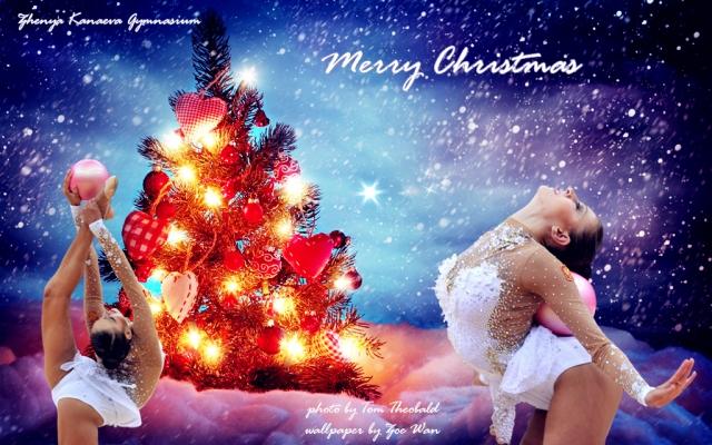 Merry Christmas 2013-wallpaper-ZKG-Zoe