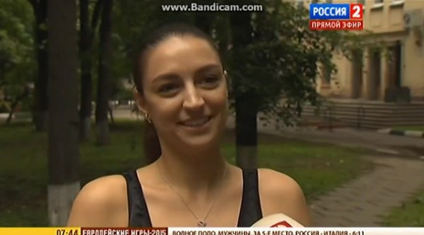 Evgenia Kanaeva about the performance of the Russian Team during European Games in Baku