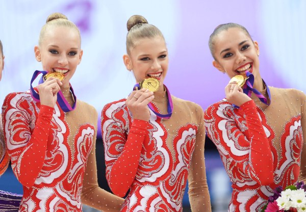 31st European Rhythmic Gymnastics Championships - Minsk/BLR, May 1-3, 2015